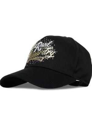 RHINESTONE CAP