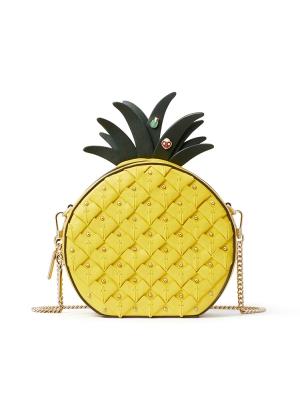 picnic pineapple crossbody light bulb