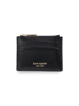 Spencer Coin Card Case Black