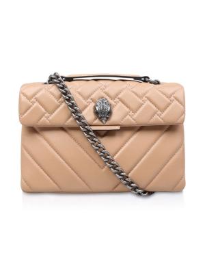 Leather Kensington X Bag