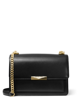 Jade Large Leather Shoulder bag