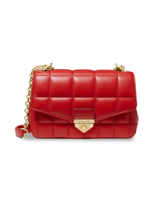 Soho Small Quilted Leather Shoulder Bag