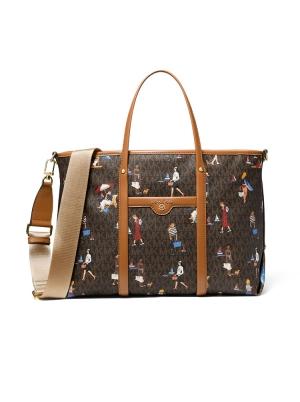 Beck Medium Jet Set Girls Tote Bag