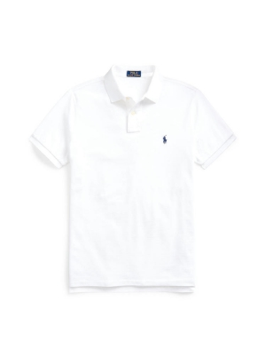 CUSTOM SLIM FIT SHORT SLEEVES KNIT POLO SHIRT
