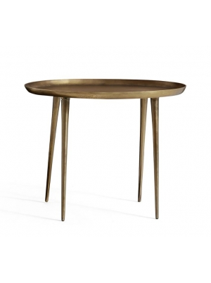 Euclid Metal End Table