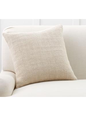 Faye Textured Linen Pillow