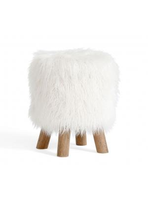 Mongolian Fur Stool