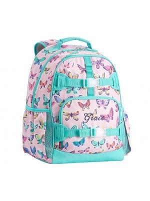 Mackenzie Pink Rainbow Butterflies Backpacks