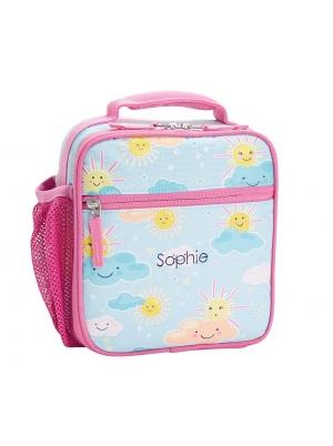 Mackenzie Aqua Sunny Skies Glow-in-the-Dark Lunch Box