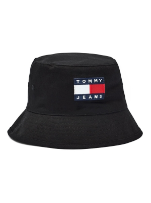 Tommy Jeans Mens Heritage Reversible Bucket Hat