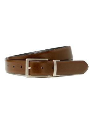 Leather Textured Reversible Belt