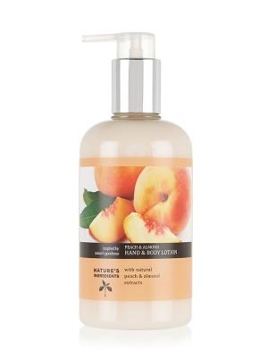 Peach & Almond Moisturising Hand & Body Lotion 300ml