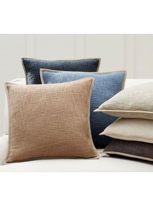 Cotton Basketweave Pillow