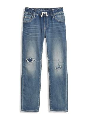 Kids Slim Pull-On Jeans with Fantastiflex