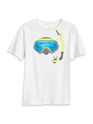 Kids 3D Graphic T-Shirt