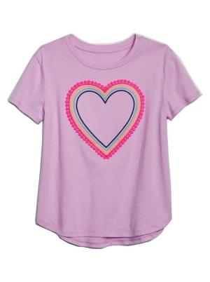 Kids Heart Short Sleeve T-Shirt