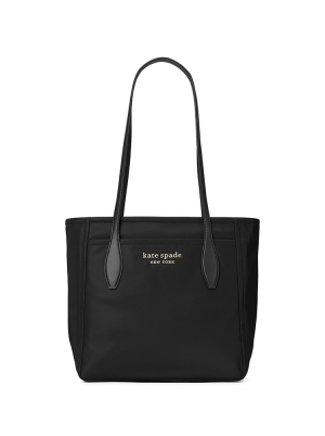 new nylon medium tote black