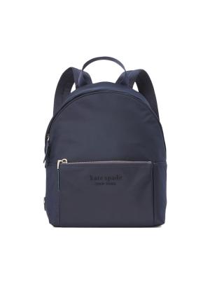 the nylon city pack medium backpack rich navy