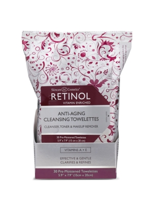 Anti-Aging Cleansing Towelettes 30 Sheets