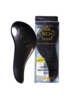 Satin Touch Detangling Brush Black