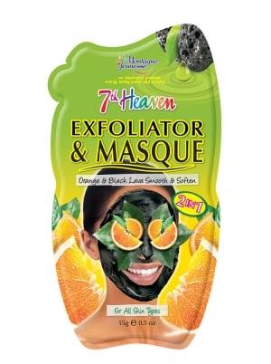 Orange & Black Lava Exfoliator & Mask