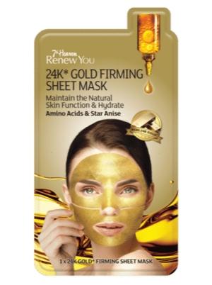 Renew You 24k Gold Firming Sheet Mask
