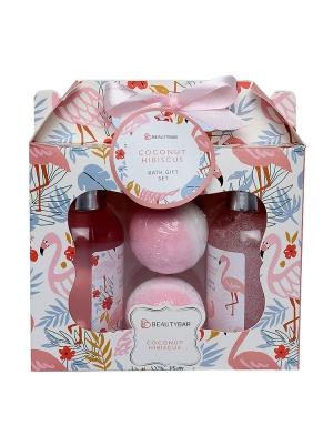 Coconut Hibiscus Bath Gift Set