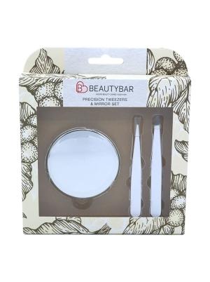Tweezers and Mirror Set