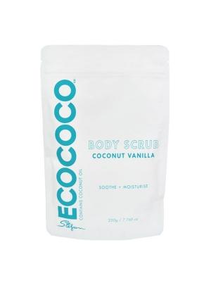 Coconut Vanilla Body Scrub