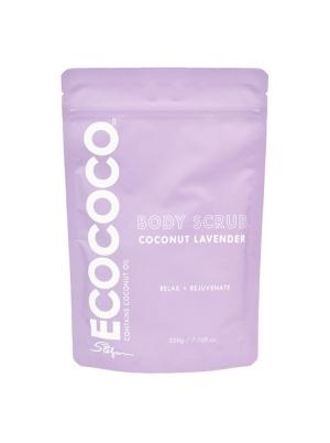 Coconut Lavender Body Scrub