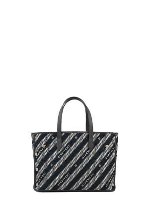 Medium Bond Shopper in Givenchy Canvas Chain Jacquard
