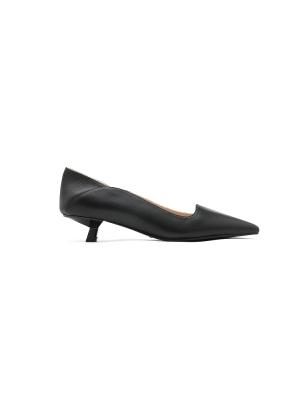 Asymmetrical Pointy Toe Heels