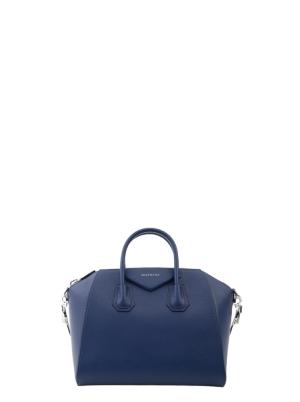 Medium Antigona Bag in Grained Leather