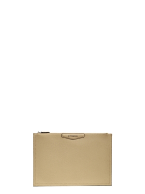 Large Antigona Pouch in Grained Leather