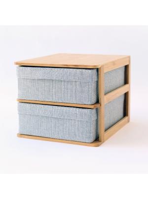 Ree-Desktop 2-Drawer Cabinet