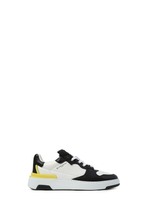 Wing Low Three Tone Sneakers in Leather