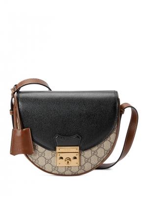 Padlock small shoulder bag