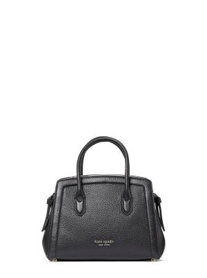 knott mini satchel black