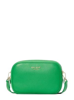 astrid medium camera bag green jay
