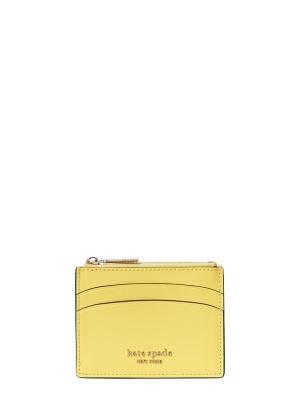 spencer coin card case yellow sesame