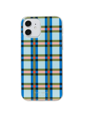 plaid iphone 12/12 pro case