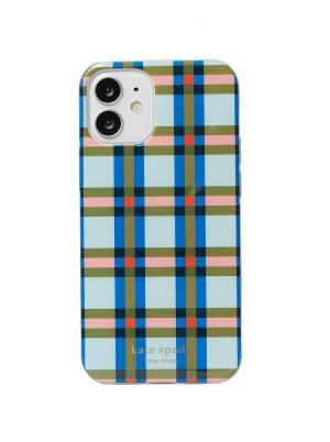 plaid iphone 12 mini case