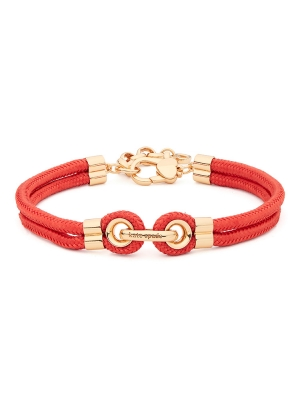 know the ropes bracelet red