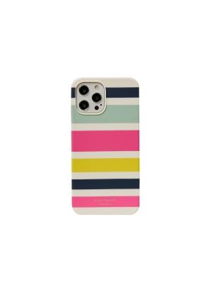stripe iphone 12 pro max case multi