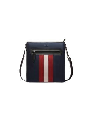 Currios Techno Nylon Cross-Body Bag in Blue