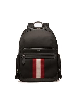 Chapmay Techno Nylon Backpack in Black
