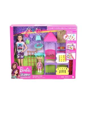 Barbie Babysitter Playground Playset