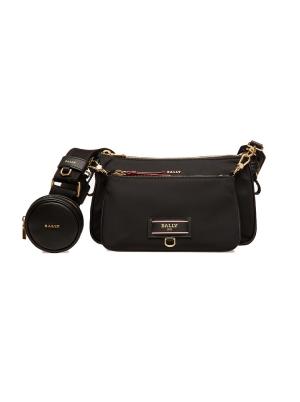 Elenia Recycled Nylon Minibag in Black