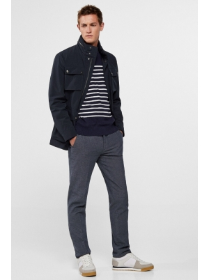 Combinable 4-pocket all-weather jacket