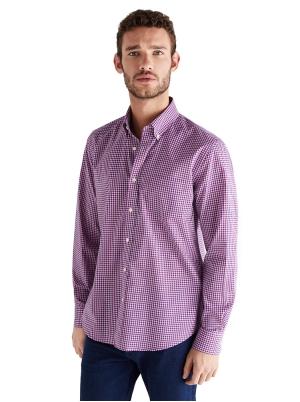 Checked Gobi cotton shirt